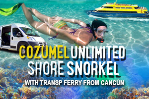 Cozumel Unlimited Shore Snorkel