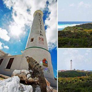 punta sur eco park cozumel iguana light tower