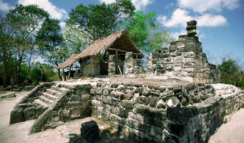 Archaeological Sites in Cozumel, Mexico
