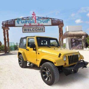punta sur eco park cozumel jeep