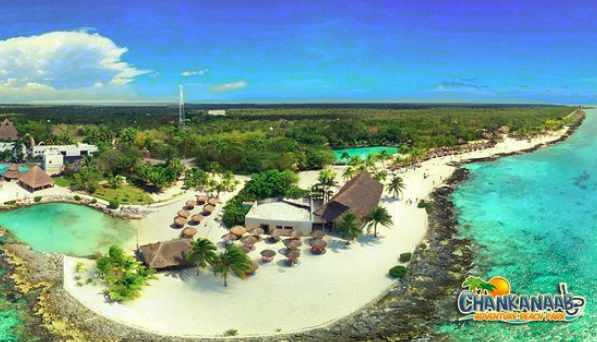 Chankanaab Park in Cozumel Island