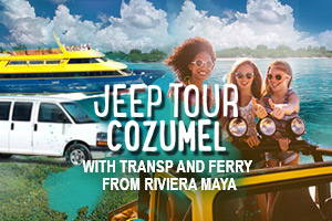 Jeep Tour Cozumel with Transp from Riviera Maya – Tour Picture
